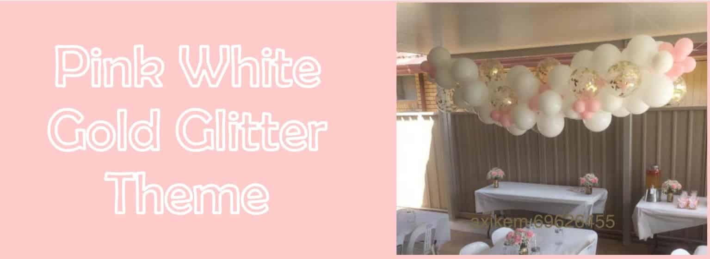 Pink-White-Glitter-Theme