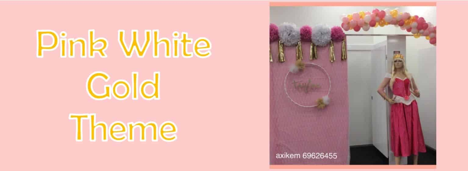 Pink-White-Gold-Theme