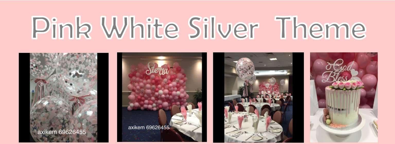 Pink-White-Silver-Theme